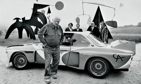 Modern Charlotte - BMW Calder Art Car